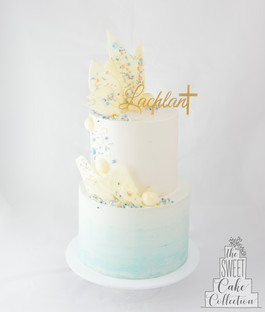 Ombre Buttercream with Chocolate Decorations