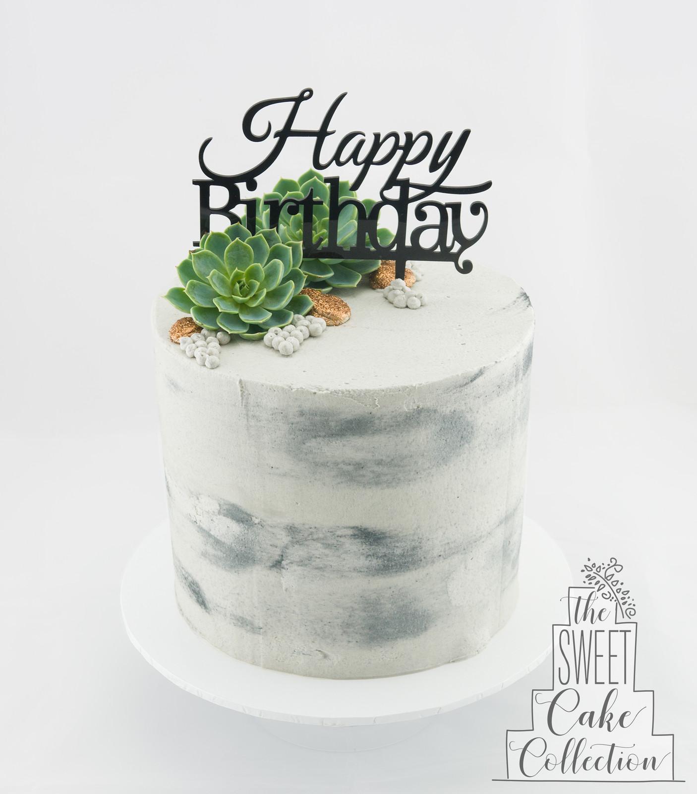 How To Make Concrete Cake