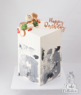 Textured and Coloured Buttercream