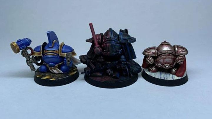 Imperial Eggbot Commander set (3 models)