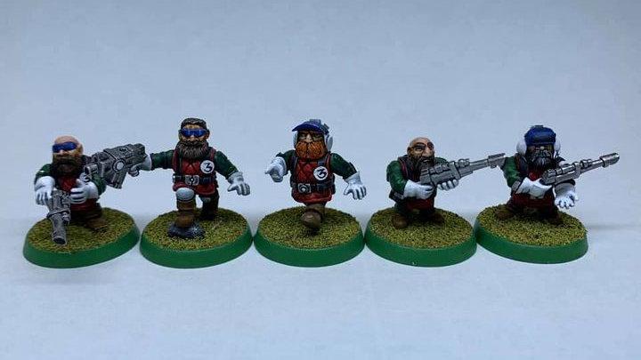 SWARF Brother squad (5 models)