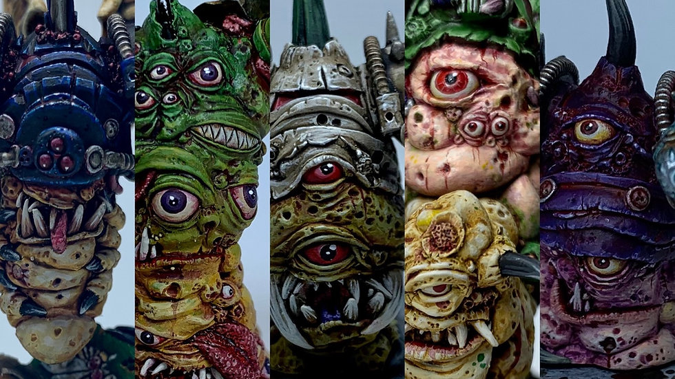 The Ultimate Entities set - Rotten characters collection of 5.