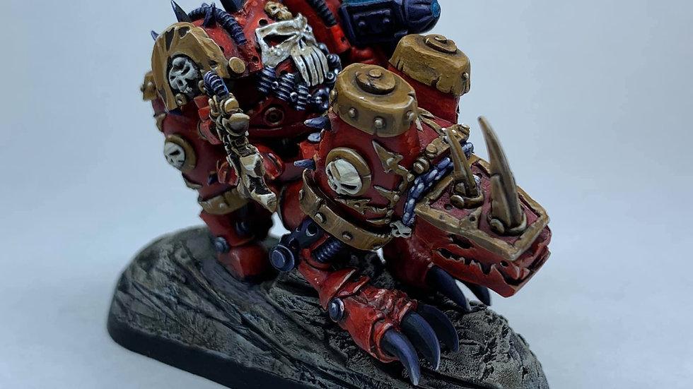 Angry Kheggbot Champion on Jegganaught (1 model)