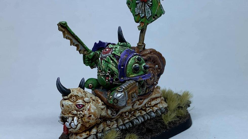 Rotten Eggbot Champion on Slugsnail (1 model)