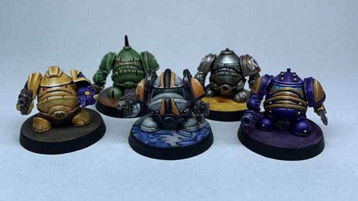 Imperial Eggbot set (5 models)