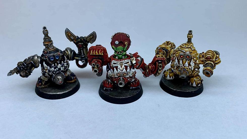 Green Eggbot set (3 models)