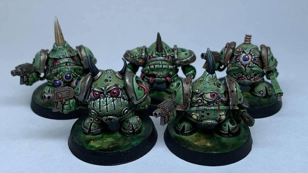 Rotten Eggbot set (5 models)