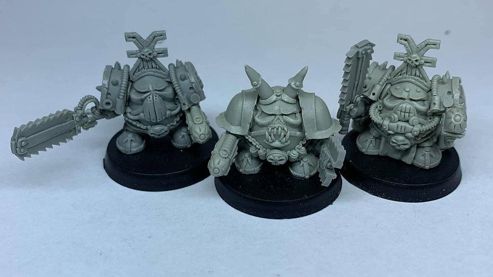 Angry Kheggbot Champion set (3 models)