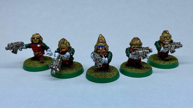 SWARF Haarfgard Squad (5 models)