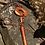 Thumbnail: Three part copper pendant