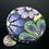Thumbnail: Blue blossoms brooch