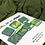 Thumbnail: Green and stripes squares set of 7