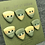 Thumbnail: Green and gold triangles set of 7