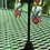 Thumbnail: Pop of red two-part earrings