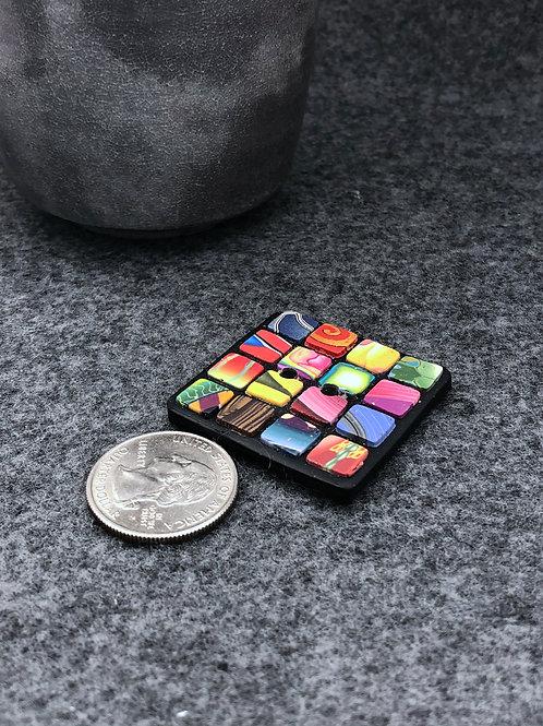 Mosaic Squares focal button
