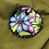 Thumbnail: Blue petals applique button