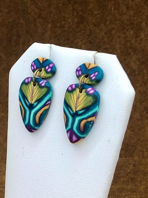 Garden path earrings