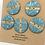 Thumbnail: Blue Marble Set of 5