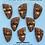 Thumbnail: Faux wood set of 8