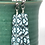 Thumbnail: Teal webs and flows earrings