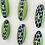 Thumbnail: Dotty green set of 8