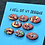 Thumbnail: Bright berries set of 8