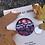 Thumbnail: Dark melange focal button