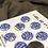 Thumbnail: Little clouds button set