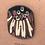 Thumbnail: Mokume gane in browns