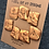 Thumbnail: Gold buttons set of 7