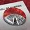 Thumbnail: Red silkscreened focal button