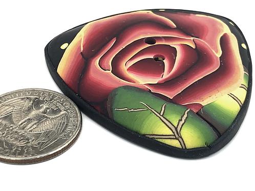 Rosebud focal button