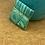 Thumbnail: Green stripes focal button