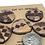 Thumbnail: Wood inlay set of 5 large