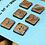 Thumbnail: Brown swirl set of 6