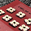 Thumbnail: Red and white square set of 7