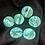 Thumbnail: Big green button set of 6