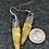 Thumbnail: Green dip earrings