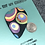 Thumbnail: Multicolored circles focal button