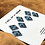 Thumbnail: Teal diamonds set of 7