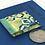 Thumbnail: Mixed media blues focal button