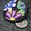 Thumbnail: Applique in purple focal button