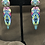 Thumbnail: Green diamond earrings
