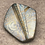 Thumbnail: Shimmer in gold and blue brooch