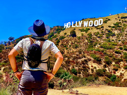 Closest view of the #Hollywood sign