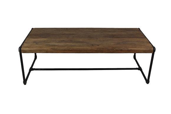 Industriële salontafel 120x60 cm