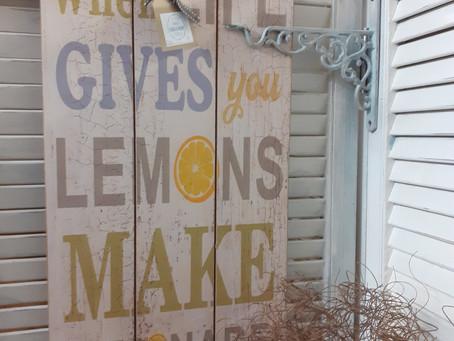 Lemonade for sale....