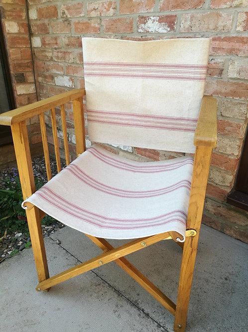 Oak Director's Chair