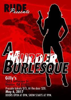 RUDE Murder Burlesque