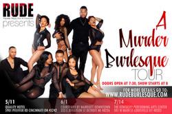 RUDE Murder Burlesque Tour